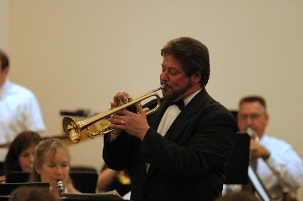 Darryl Bayer, Director, Texas Brass Ensemble and Herald Trumpets